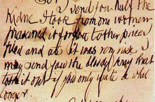 Письмо Джека-потрошителя - фото на mifistoria.info