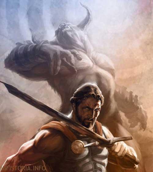 Миф Тесей и Минотавр - фото на mifistoria.info