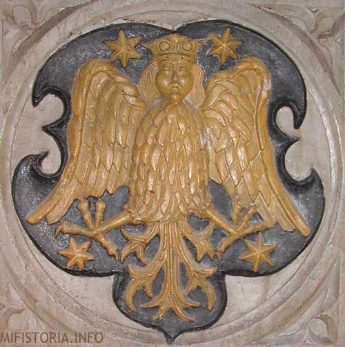 Герб Кирксен - фото на mifistoria.info