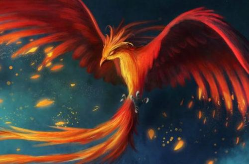 Феникс, птица, история - рисунок на mifistoria.info