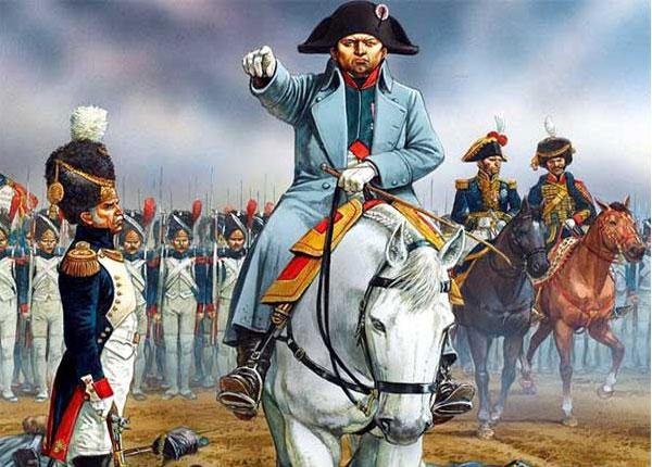 Наполеоновские войны, история правления Наполеона - фото на mifistoria.info