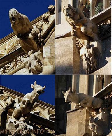 Горгульи собора Стефана - фото на mifistoria.info