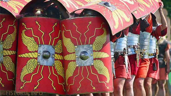 Римская черепаха - фото на mifistoria.info