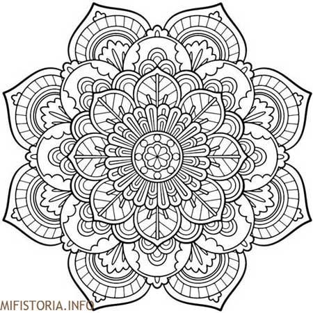 Mandala - рисунок на mifistoria.info