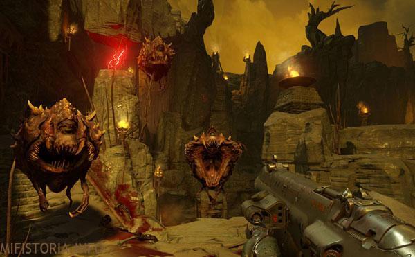 Doom - скриншот на mifistoria.info