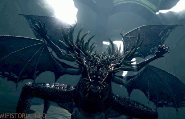 Dark Souls, дракон - скриншот на mifistoria.info