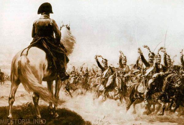 Наполеон - рисунок на mifistoria.info