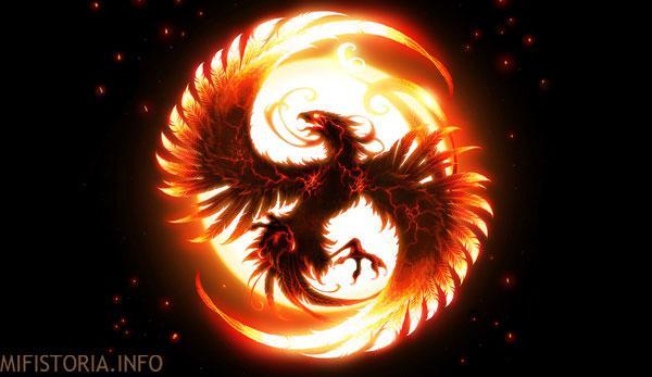 Знак феникса - фото на mifistoria.info
