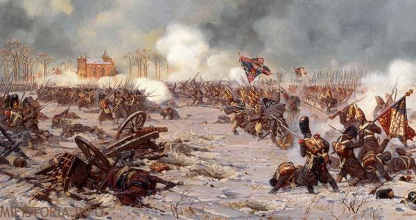 Битва при Прейсиш-Эйлау - фото на mifistoria.info