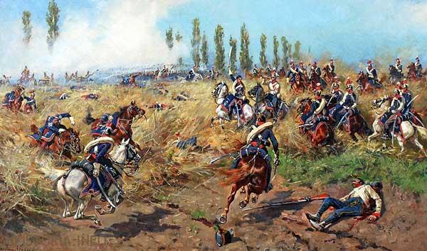 Битва при Ваграме - фото на mifistoria.info