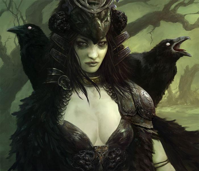 Богиня Морриган