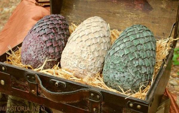 Яйца драконов - фото на mifistoria.info