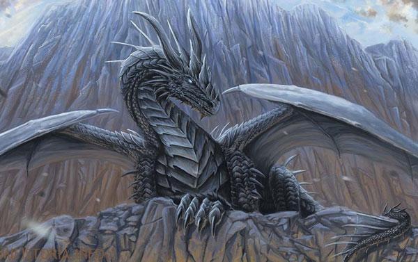 Металлический дракон - картинка на mifistoria.info