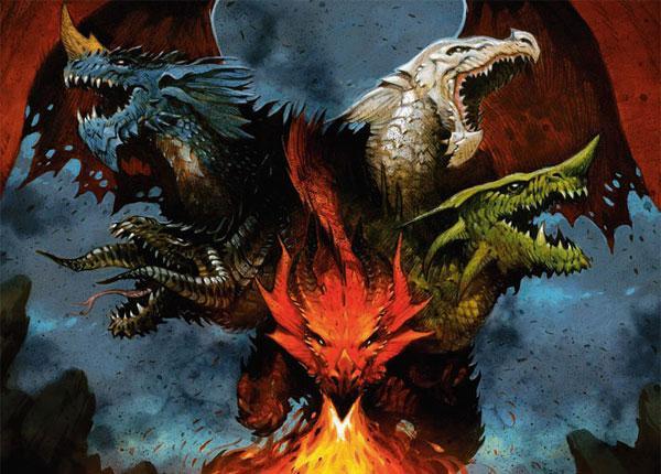 Драконы - легендарные монстры, управляющие стихиями и магией - фото на mifistoria.info