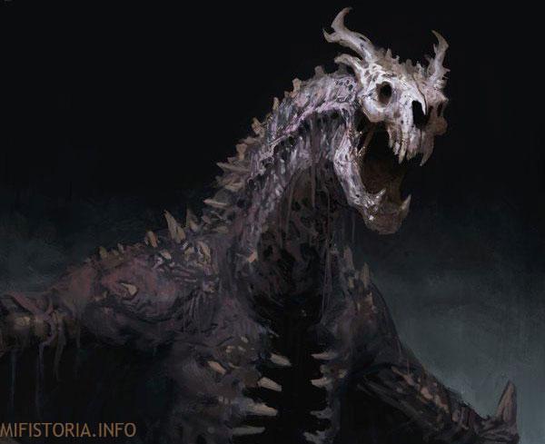 Мертвый дракон - изображение на mifistoria.info