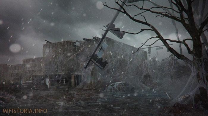 Перевернутый мир - изображение на mifistoria.info