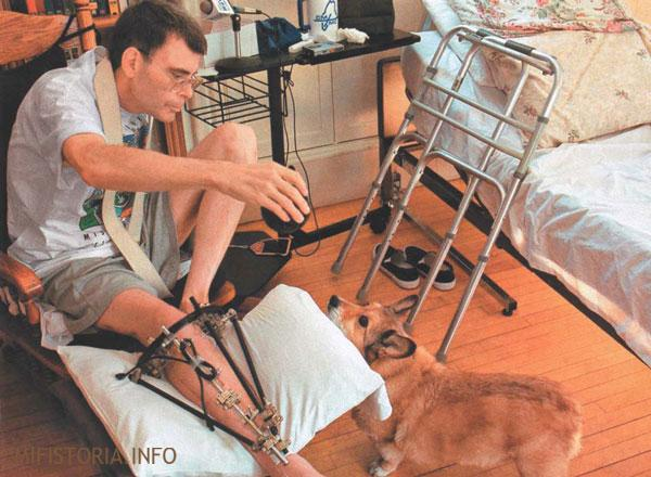 Травма Стивена Кинга после аварии - фото на mifistoria.info