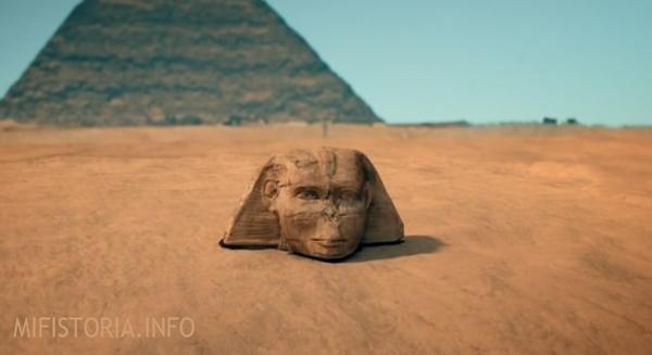 Sfinks под песком - фотография | mifistoria.info