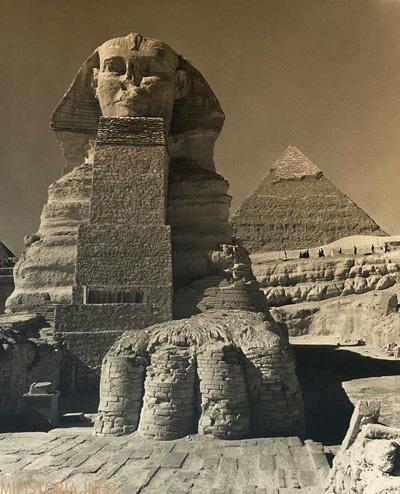 Египет Сфинкс - фотография на mifistoria.info