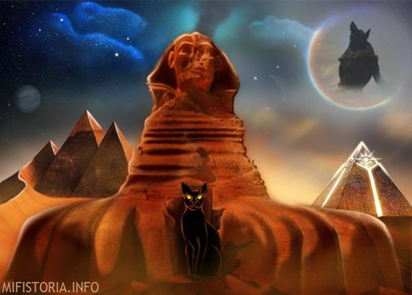 Статуя Сфинкса в Египте - фото на mifistoria.info