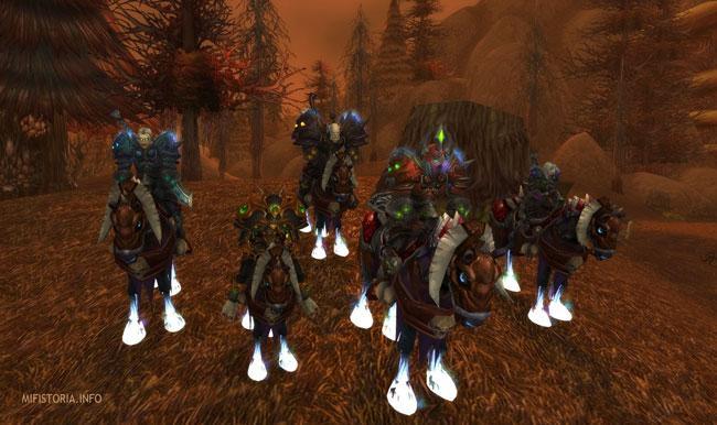 Задание в World of Warcraft - Четвертый Всадник - картинка