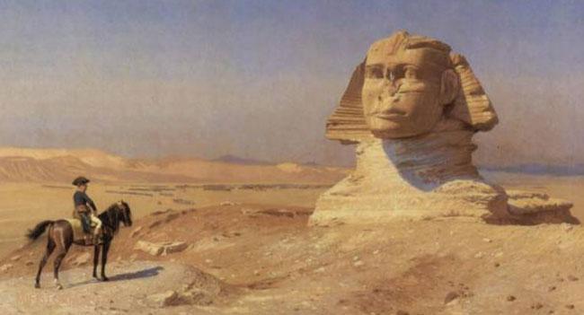 «Наполеон перед Сфинксом» Жан-Леон Жером - картинка на mifistoria.info