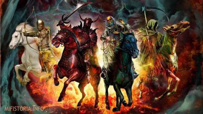 Четыре всадника Апокалипсиса - фотография на mifistoria.info