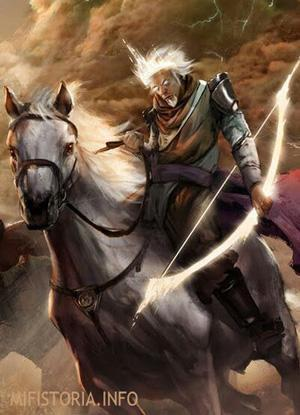 Всадник Апокалипсиса Чума - картинка на mifistoria.info