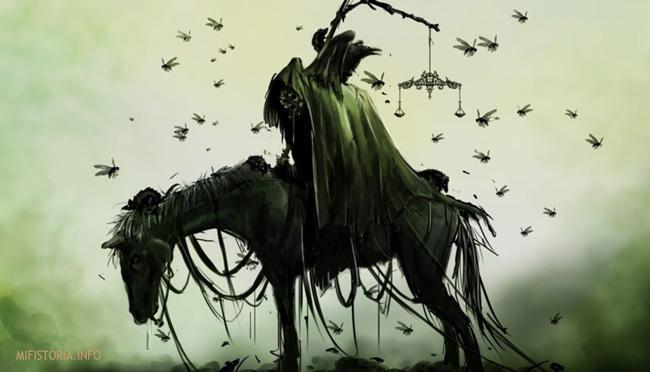 Всадник Апокалипсиса Смерть - фото на mifistoria.info