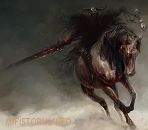 Всадник Апокалипсиса Война - изображение на mifistoria.info