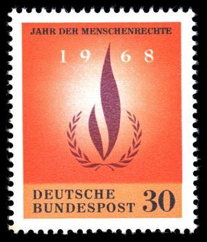 Немецкая почтовая марка