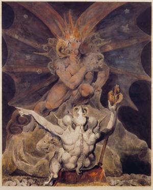 Плакат. Уэльская печать. Число зверя 666 Филадельфия, музей и библиотека Розенбаха