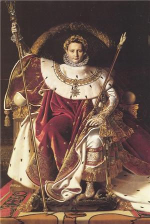Жан-Август-Доминик Энгр. Портрет Наполеона на императорском троне