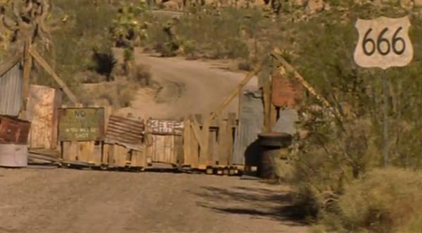 Фрагмент с фильма «Трасса 666»
