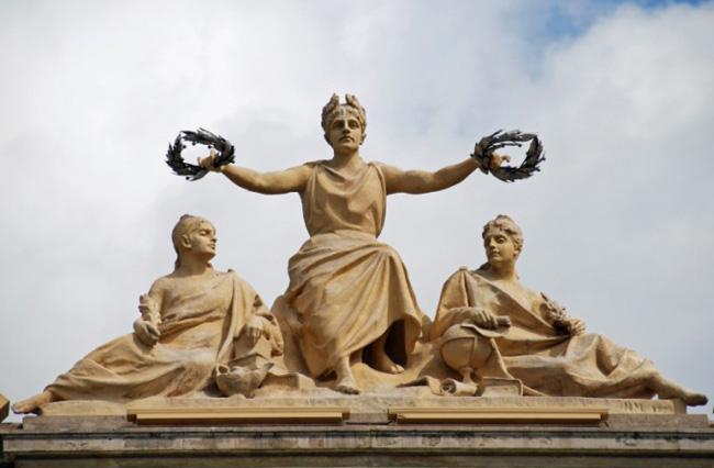Лавровый венок в Древней Греции
