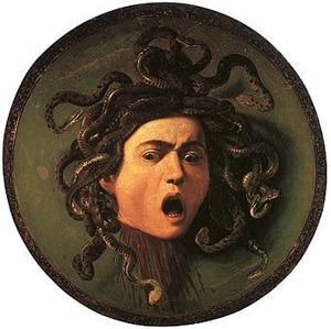 Картина. Микеланджело Меризи де Караваджо. Медуза