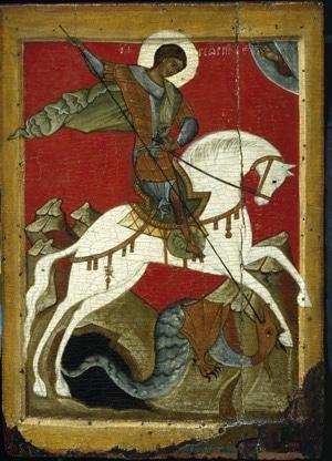 Изображение Новгородской иконы