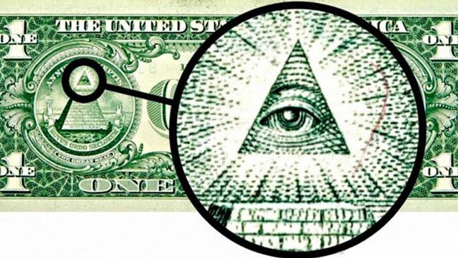 Всевидящее око на долларе