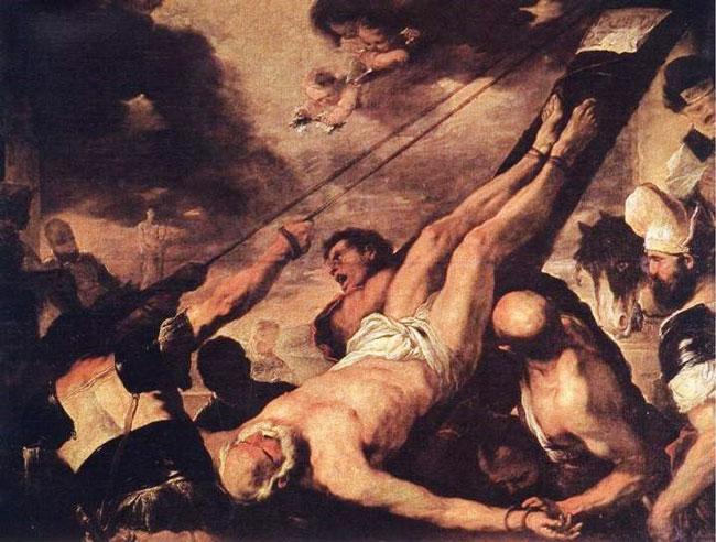 Лука Джордано «Распятие святого Петра»