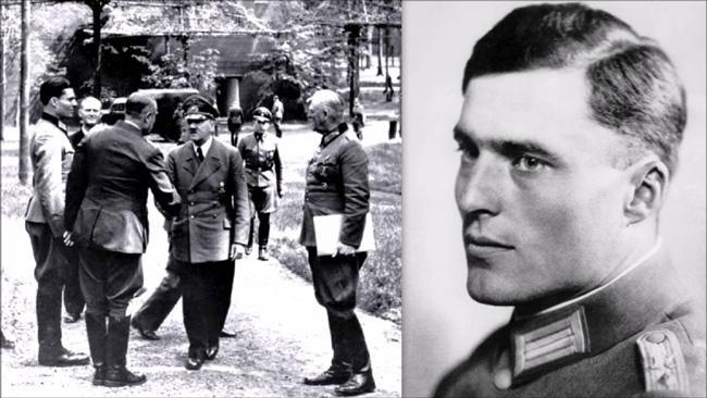 Шенк фон Штауффенберг - заговор против Гитлера