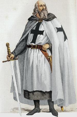 Рисунок «Жак де Моле», 19 век