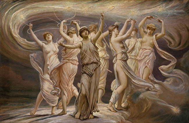 И. Веддер «Плеяды» (1885)
