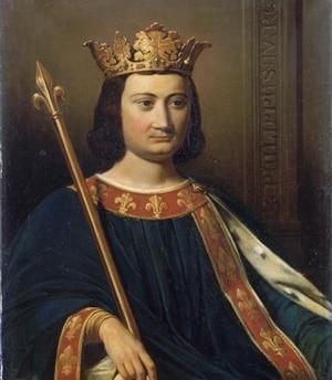 Картина «Король Луис Филипп I», художники Версаля