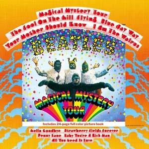 Обложка альбома «Magical Mystery Tour» музыкальной группы The Beatles.
