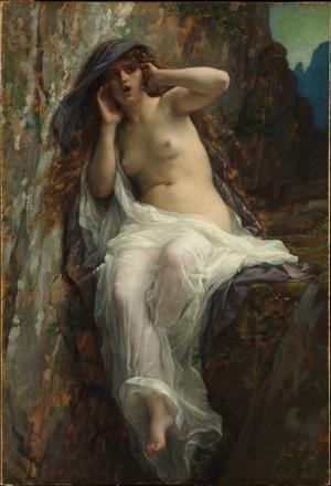 Ореада «Эхо». А. Кабанель, 1874 год