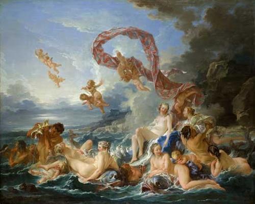 Рождение Венеры. Ф. Буше, 1740 г.