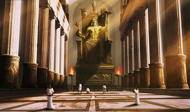 Скульптура Зевса