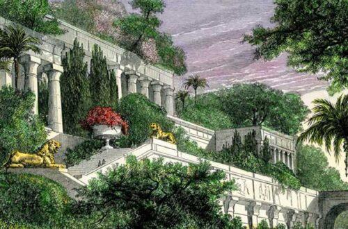 Висячие сады Семирамиды - история и фото на mifistoria.info