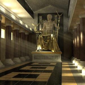 Статуя Зевса в Олимпии - История, фото на mifistoria.info