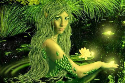 Нимфы - мифическое существо картинка на mifistoria.info